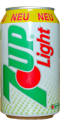 0382 7up Zitronen-Limonade light Deutschland 1992