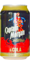 0152 Captain Morgan Rum & Cola Deutschland 2010