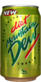 1415 Mountain Dew Zitronen-Limonade England 1995